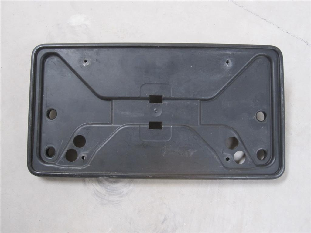 00 01 02 Audi S4 Front License Plate Frame: Audis4parts.com