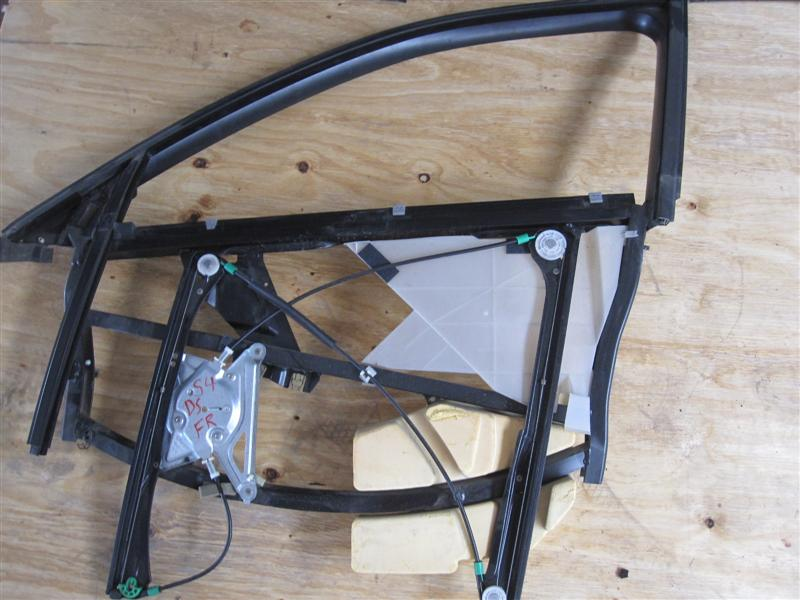 97 02 audi a4 s4 door frame regulator front left Exterior door frame parts