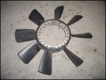 00 01 02 Audi A4 S4 A6 OEM Front Radiator Fan Mechanical