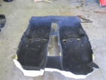 00 01 02 Audi S4 A4 OEM Carpet BLACK Formed Fit Foam