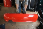 00-02 Audi B5 S4 Sedan OEM Rear Bumper Laser Red