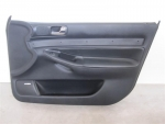 00-02 Audi S4 A4 Front Door Panel BLACK RIGHT Bose