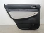 00-02 Audi S4 Rear Door Panel LEFT White Bose