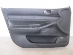 00-02 Audi S4 A4 Front Door Panel BLACK LEFT Bose
