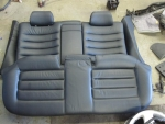97-02 Audi S4 A4 OEM B5 Rear Seat Black Leather SET
