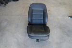 98-04 Audi A6 Front LEFT Leatherette Seat BLACK