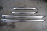 Audi C5 Allroad Lower Door Molding Blades Chrome