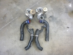 00-02 Audi B5 S4 2.7T OEM KO4 Turbos With Inlets