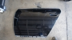 Audi C5 allroad OEM Driver side Rear Door Shell Brilliant Black LY9B