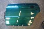 00-02 Audi B5 S4 OEM Rear Driver Side Door Skin Green
