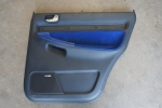 00-02 Audi B5 S4 OEM Pasenger Side Door Rear Door Card Nogaro Blue
