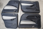 00-02 Audi B5 S4 OEM Door Card Set White Leather