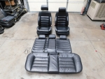 Audi C5 S6 OEM Black Leather Sport Seats